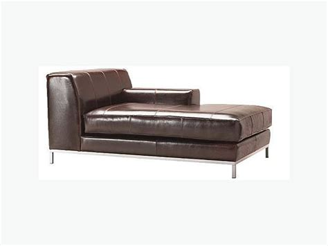 Used Furniture Kitchener Waterloo by Ikea Kramfors Leather Chaise Lounge Futon Single Bed West