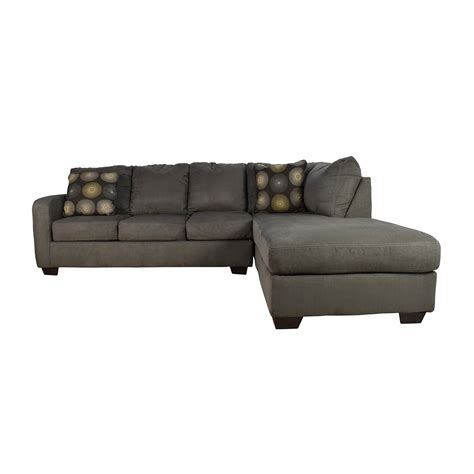 ashley furniture grey sofa ashley furniture gray sectional ashley 512 manzanola