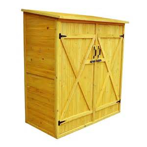 Small Wood Storage Shed Leisure Season Medium Wooden Outdoor Pool Yard Storage