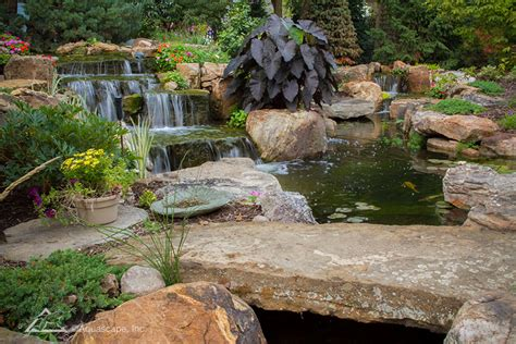 Aquascape Water Features by Portfolio Gallery Aquascape Construction