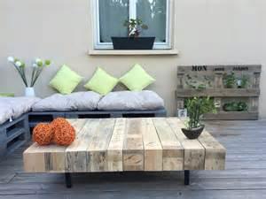 table basse en bois fabrication artisanale meubles et