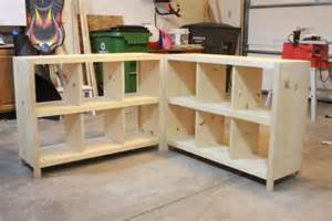 how to build wood cube shelves modern wood furniture