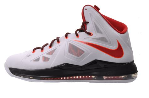miami heat basketball shoes nike lebron x 10 mens basketball shoes miami heat home