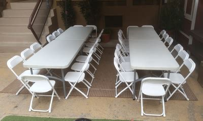 tables and chairs for rent el segundo rentals table chair rentals big blue sky rentals event rentals los