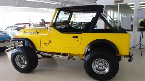 Jeeps For Sale Columbus Ohio 1980 Jeep Renegade 2dr Open Stock 717247 For Sale Near
