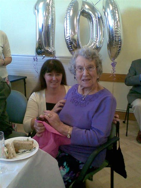 home instead senior care 100 year madge is