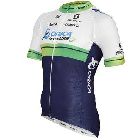 Jersey Greenedge 2015 orica greenedge cycling jersey