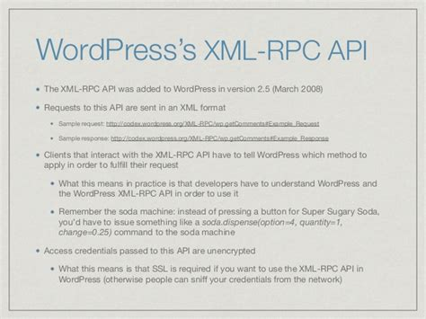 xml rpc tutorial c the wordpress rest api what it is why it matters and