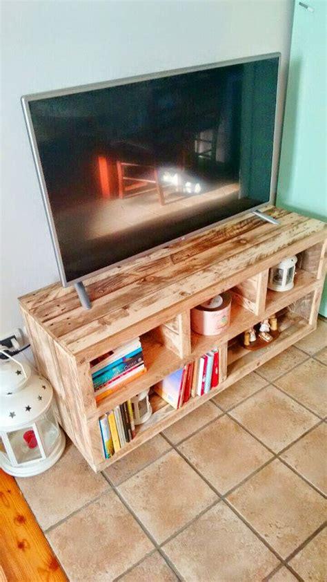 Bauen Mit Europaletten 2457 by Handmade Tv Stand From Pallet Wood Media Console Media