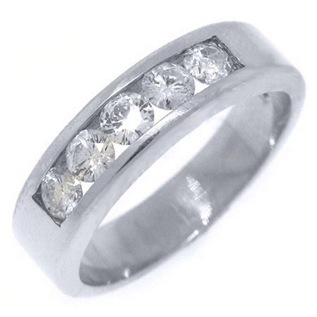 thejewelrymaster  white gold mens brilliant  cut