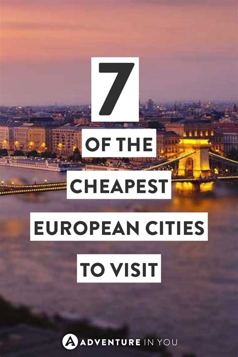 cheapest european cities     visit