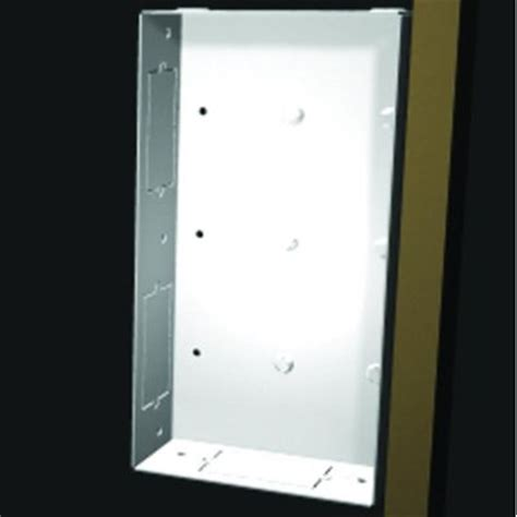 chief in wall storage box chief pac522 flat panel pre wire in wall box