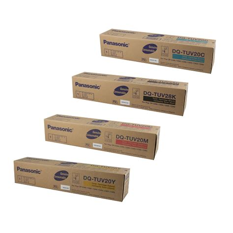 Toner Panasonic panasonic dpc265 color laser printer oem toner cartridge set