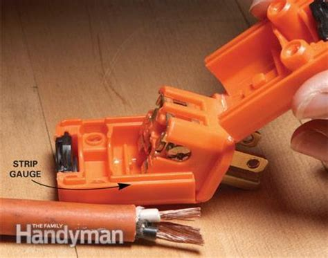rewiring extension cord extension cord repair the family handyman