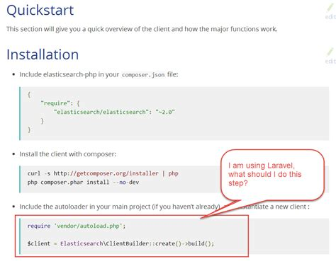Laravel About The Using Of Elasticsearch Php Stack Overflow Elasticsearch Template Mapping