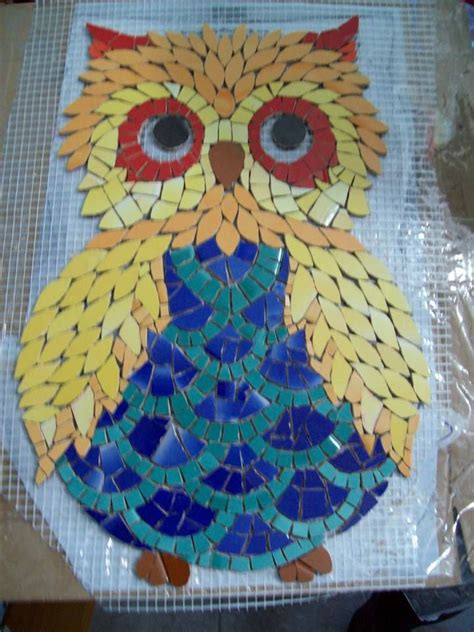 mosaic pattern owl 17 best images about mosaics owls on pinterest window