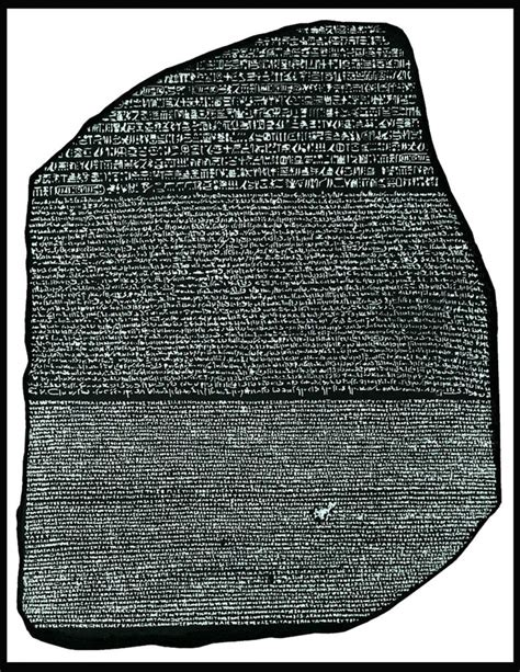 rosetta stone in a sentence ing s peace poem translated into arabic and egyptian art