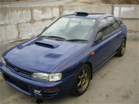 automotive repair manual 1996 subaru impreza regenerative braking 1996 subaru impreza wrx pics 2 0 gasoline manual for sale