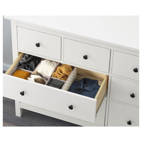 Chest Of 8 Drawers by Hemnes Chest Of 8 Drawers White 160x96 Cm