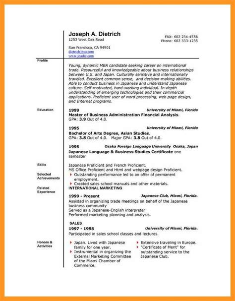 Microsoft Office Word Templates Free Bio Letter Format Microsoft Office 2007 Resume Templates Free