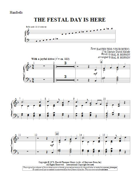 despacito xylophone tutorial the festal day is here sheet music by hal h hopson