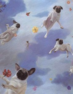 when pugs fly flying pug drawing pugs pug and drawings