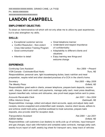 Transportation Assistant Sle Resume by Best Transportation Assistant Resumes Resumehelp