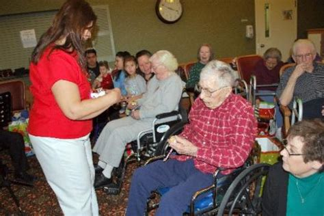christmas nursing home peo makes tiny gifts for area seniors fort times