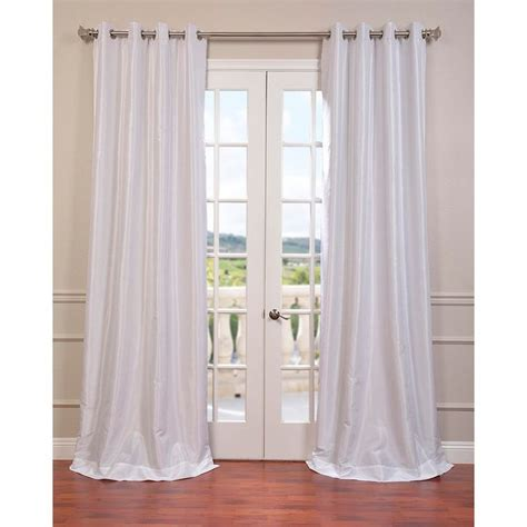 faux silk grommet curtains best 25 faux silk curtains ideas on pinterest