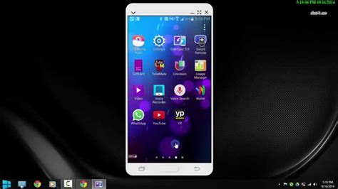 Samsung Galaxy S5 Mirror how to screen mirror samsung galaxy s5 to pc