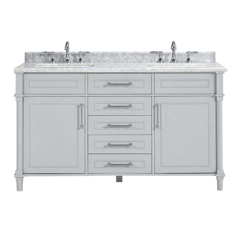 Bathroom: Exciting 60 Inch Vanity Double Sink For Modern