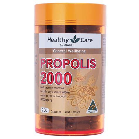 buy healthy care propolis 2000mg 200 capsules at