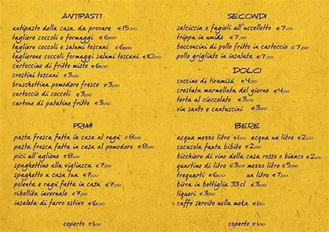ristorante a casa tua menu ristorante a casa tua a certaldo foto di ristorante