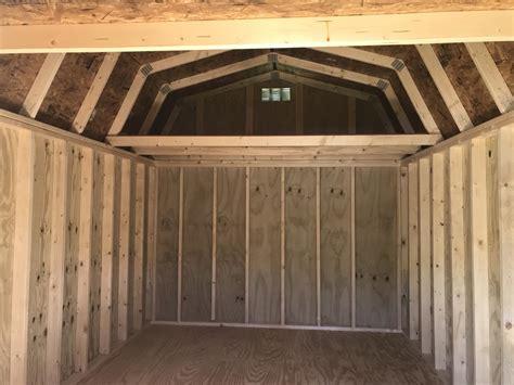 treated  lofted barn
