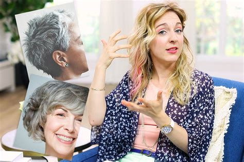 dyt hair graying how to transition to gray hair tips for all 4 energy
