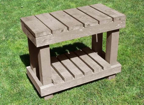 potting bench woodworking plans potting bench woodworking plan easy wood projects you can