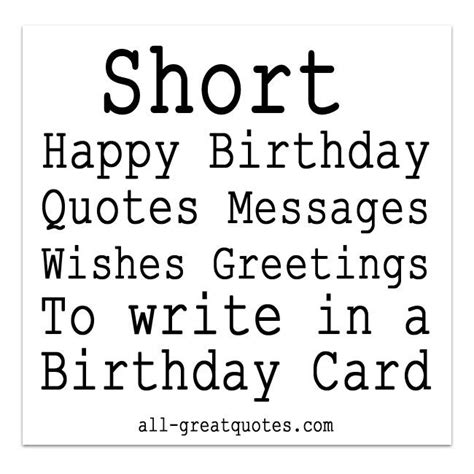 Small Birthday Quotes For Friend 1000 Ideas About Short Birthday Wishes On Pinterest
