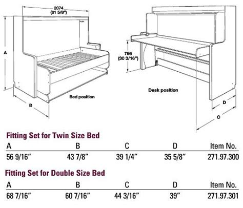 murphy bed desk kit hafele quot hiddenbed quot hardware mechanism for foldaway bed