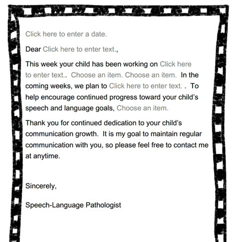 Parent Letter About Student Progress Cooking Up Gallon Size For Quart Size Communicators Parent Communication