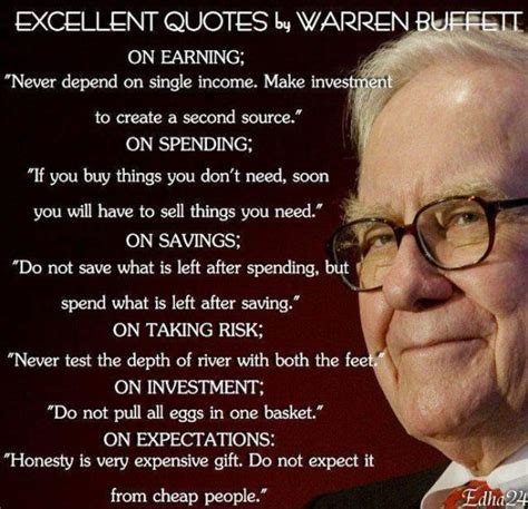 buffet sayings warren buffett quotes on quotesgram