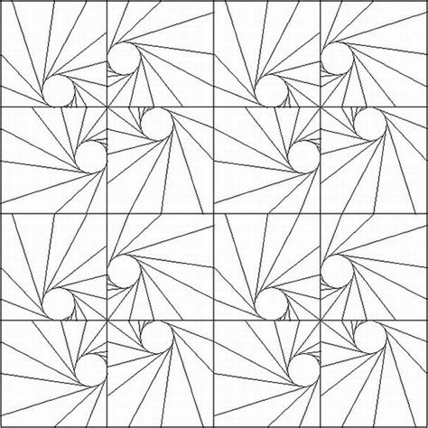 geometric star designs coloring book dover publications