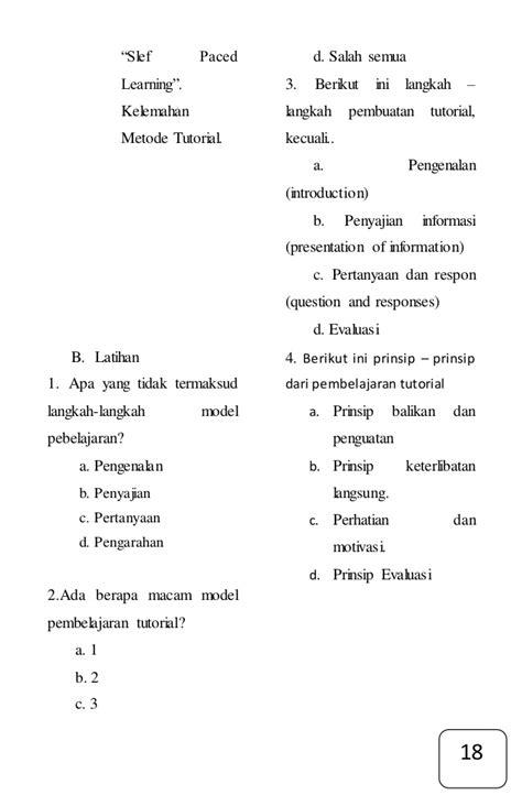 modul tutorial adalah modul tutorial pembelajaran