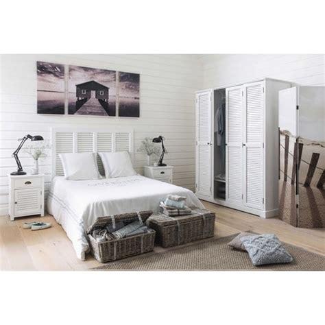 lade maison du monde wit houten nachtkastje met lade b 45 cm barbade maisons