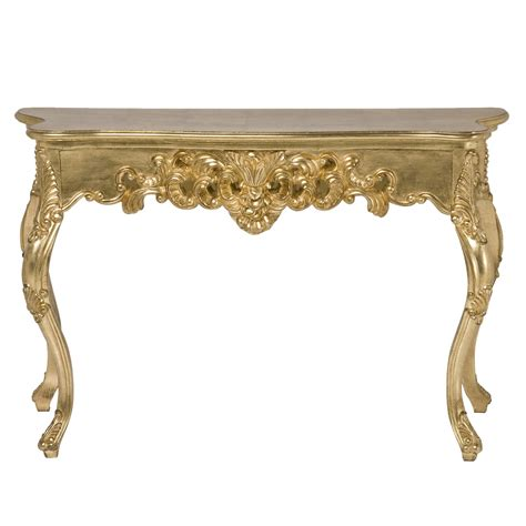 gold sofa table gaga gold french console table french bedroom company