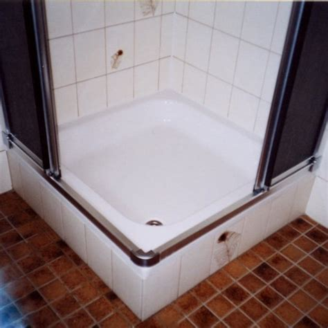 flache badewannen wanne in wanne montage duche duschwanne