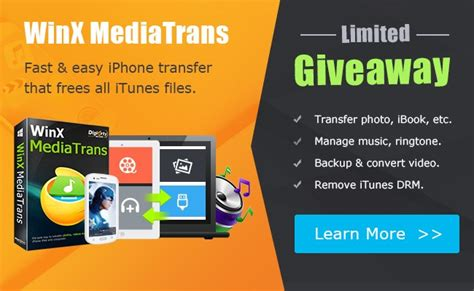 Winx Mediatrans Giveaway - winx mediatrans the strongest itunes alternative for windows pc technokarak com