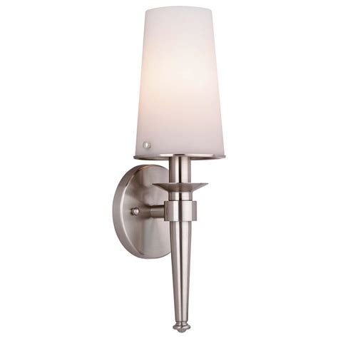 Philips Bathroom Lighting F542736nv2 Philips Forecast Lighting F542736nv2 Torch 1 Light Bath In Satin Nickel Finish