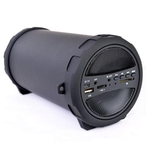 Speaker Bluetooth Sd 100 bazooka 10 inch wireless bluetooth stereo speaker w sd