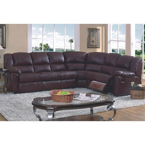 Reclining Sectional Sofa With Sleeper Brown Leather Match Sleeper Reclining Sectional Sofa Free Shipping Today Overstock