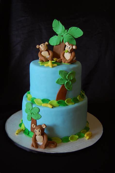 monkey cake a of cake monkeys elephants and horses oh my